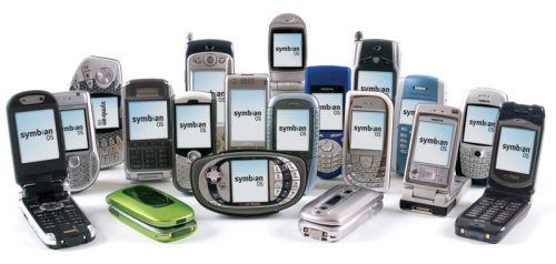 Symbian OS смартфон