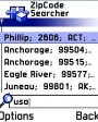 ZipCode Searcher v2.1 для Symbian 6.1, 7.0s, 8.0a, 8.1 S60
