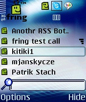 fring v4.05.17 ��� Symbian OS 9.4 S60 5th edition � Symbian^3