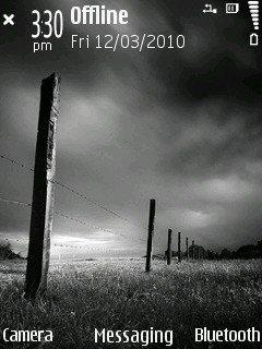 Темы Nokia N73 Music Edition.  Черные и серые.
