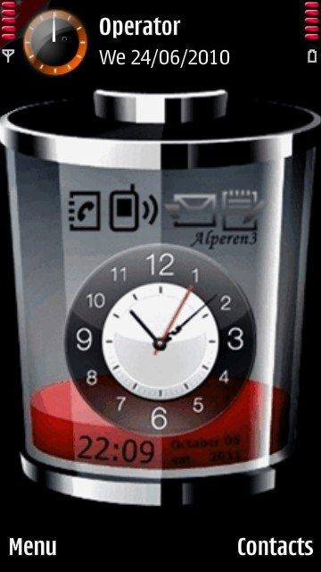 темы со стрелочными часами для телефона нокиа 225