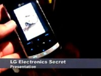 Презентация нового LG Secret