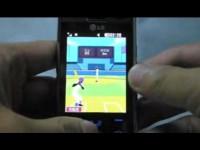 LG KF750 - Игра Homerun