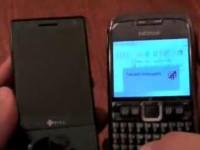 HTC Touch Diamond против Nokia E71