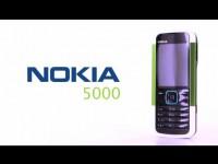 Промо видео Nokia 5000