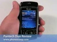 Видео обзор Pantech Duo от Phonescoop.com