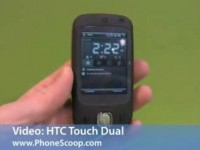 Видео обзор HTC Touch Dual от PhoneScoop