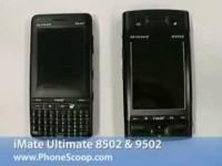Видео обзор i-mate Ultimate 8502 и i-mate Ultimate 9502 от Phonescoop.com
