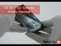 Видео обзор LG KF750 от Timtech.com