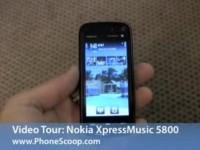 Видео обзор Nokia 5800 XpressMusic от PhoneScoop