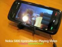 Демонстрация возможностей Nokia 5800 XpressMusic - Просмотр видео