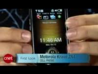 Видео обзор Motorola Krave ZN4 от cNet