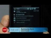 Видео обзор Samsung Epix от cNet