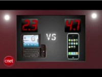T-Mobile G1 vs iPhone 3G от cNet