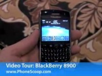 Видео обзор BlackBerry 8900