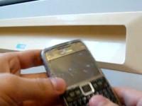 Краш-тест Nokia E71: Холод