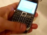 Краш-тест Nokia E71: Промывка