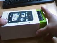 Распаковка комплекта поставки коммуникатора HTC HD2
