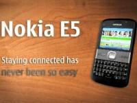 Промо видео Nokia E5