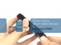 Видео обзор Samsung SGH-D900 от PhoneArena.com