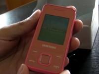Видео обзор Samsung E2330
