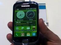 Видео обзор Samsung Galaxy Suit S5670