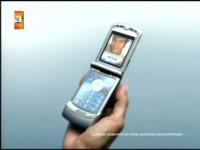 Промо видео Motorola V3