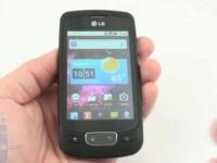 Видео обзор LG P500 Optimus One