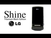 Демо-видео LG SHINE BLACK TITANIUM от WorldGSM