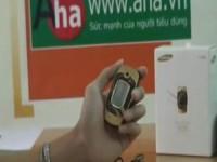 Видео обзор  Samsung E500 от AHA.vn