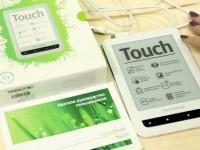 Наш видео-обзор PocketBook Touch 622