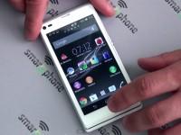Наш видео-обзор Sony Xperia L