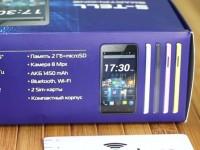 Обзор смартфона S-TELL M705