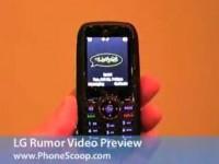 Видео обзор LG Rumor от PhoneScoop.com