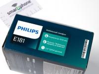 Наш видео-обзор Philips E181